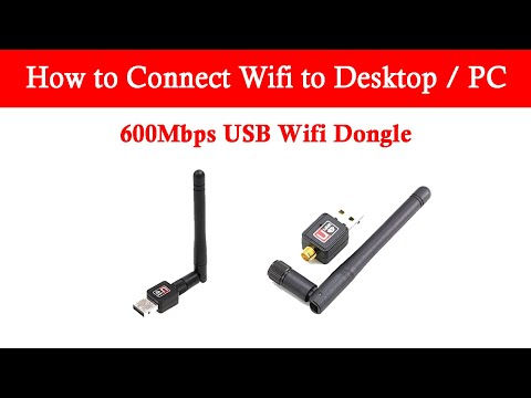 How to Connect Wifi to Desktop / PC