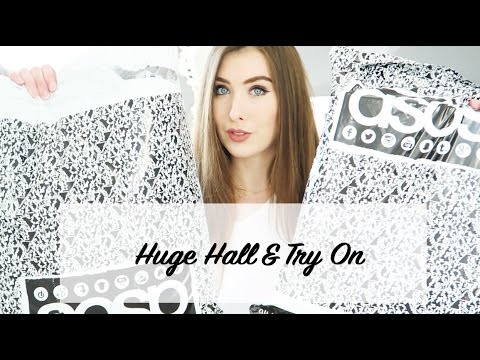HUGE HAUL: ASOS/MISSGUIDED/TOPSHOP/PRETTYLITTLETHING/NEWLOOK