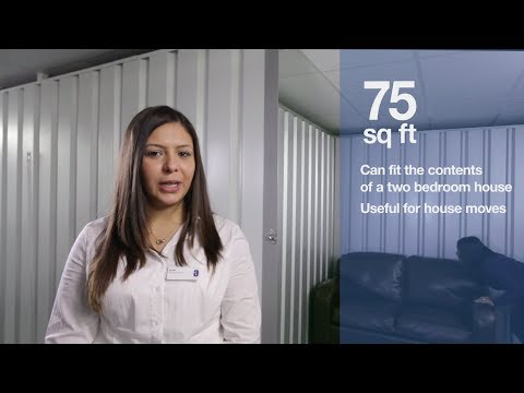 75 Square Foot Storage Room - Personal & Business Storage from Safestore