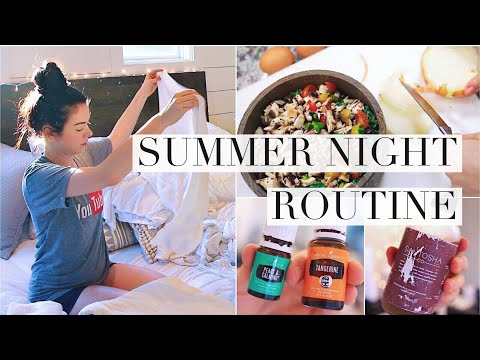 My Summer Night Routine!