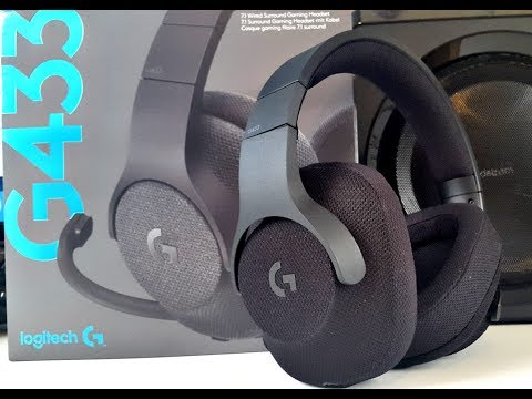 Logitech G433 Gaming Headset Review! DTS 7.1 Surround Sound for $99