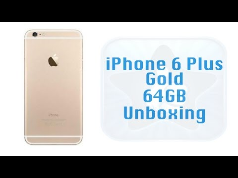 iPhone 6 Plus Gold 64GB Sprint Unboxing - Smartphone Unboxing
