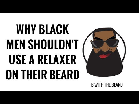 WHY BLACK MEN SHOULDN'T USE A RELAXER ON THEIR BEARD | CHRIS ROCK | PERMANENT BEARD LOSS