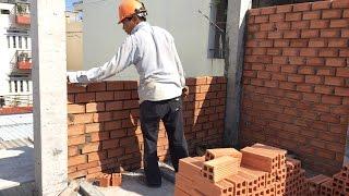 Kho Tư liệu Xây dựng - Cách xây tường nhà phố | Cách xây tường gạch | Cách xây cấu kiện bằng gạch