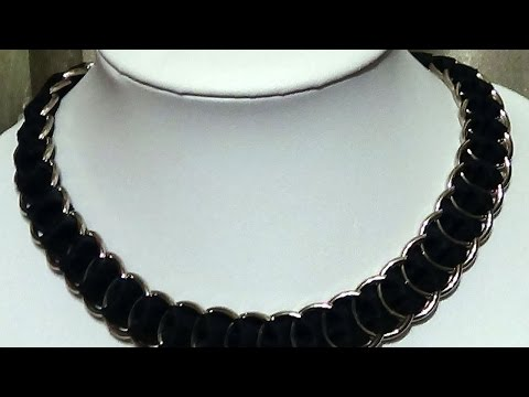 Create a Beautiful Ribbon Jump Ring Necklace - DIY Style - Guidecentral