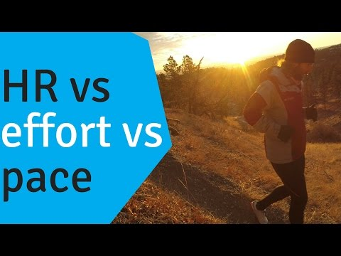 Running by Heart Rate, Perceived Effort, or Pace. What's best?