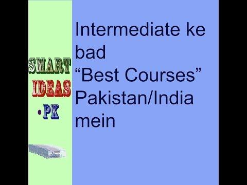 top 10 best courses in Pakistan after intermediate