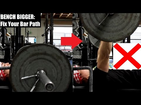 BENCH BIGGER: The Bar SHOULD NOT Travel In A Straight Line!