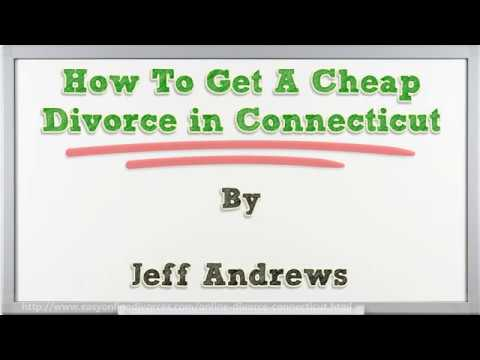 How To Get A Cheap Divorce in Connecticut