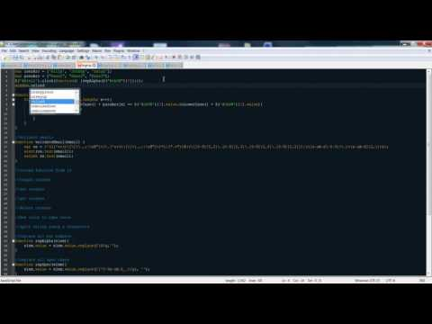 OnLoad Function in JS / JQuery