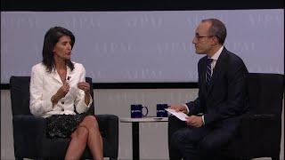 U.N. Ambassador Nikki Haley Interview