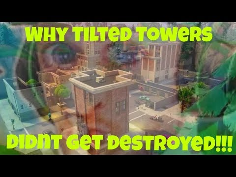 Why Tilted Towers Didn't Get Destroyed!   Fortnite Dank Memes