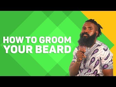 How To Groom Your Beard With Beard Oil And Beard Cream