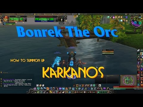 WoW: How To Summon Up Karkanos