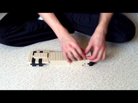 Building Lego Missile Launcher Vehicle