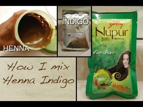 Henna for Hair-How I Mix My Henna & Indigo