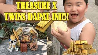 Treasure X | Twins Dapat Ini | Kids Got This Treasure!!!