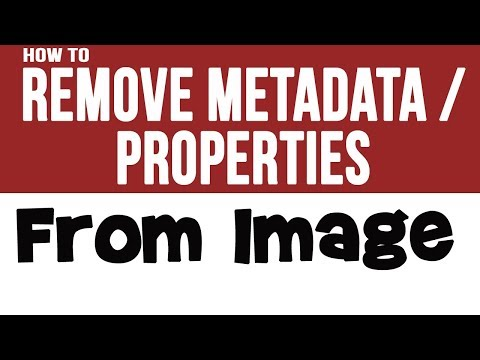 How To Remove Metadata/ Properties From Multi Image within One Click & Edit with Picasa