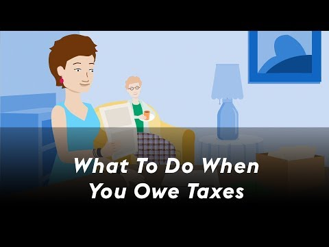 What To Do When You Owe Taxes | RushCard
