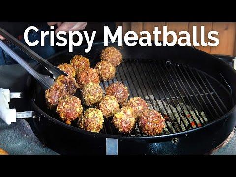 Crispy Meatballs At the Pit