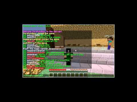 MineCraft MultiPlayer-Chat Spam Time!!!!!