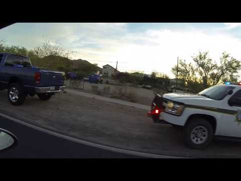 Pima County Sheriff Traffic Stop, Ajo, Arizona, State Route 85 South, 25 May 2018 GOPR6507