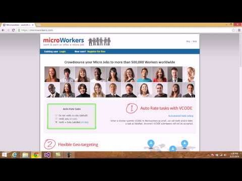 How to Earn Money Online by doing Simple Micro jobs