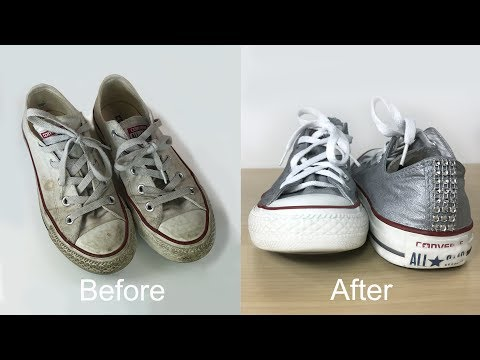 Converse Makeover: How to Clean Your White Converse Sneakers and Give it a New Amazing Look!