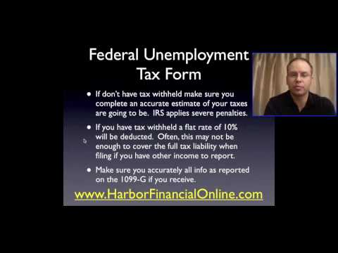 Federal Unemployment Tax Form Tips for 2012, 2013