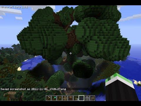 Minecraft: Epischen Riesenbaum bauen Tutorial (World-Edit) -