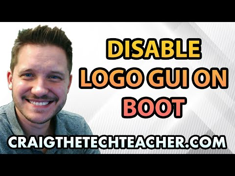 How To Disable Logo GUI Boot On Windows 7 Startup - Ep. 26