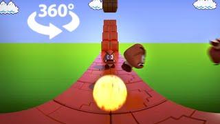 Super Mario Bros VR 360 (NES): Level 1-1