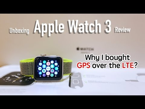 Apple Watch 3 Review & Unboxing -  Is apple watch 3 LTE worth buying?