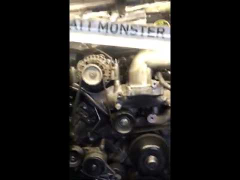 Powerstroke 6.0 Rough running HEAVY BLUE SMOKE!
