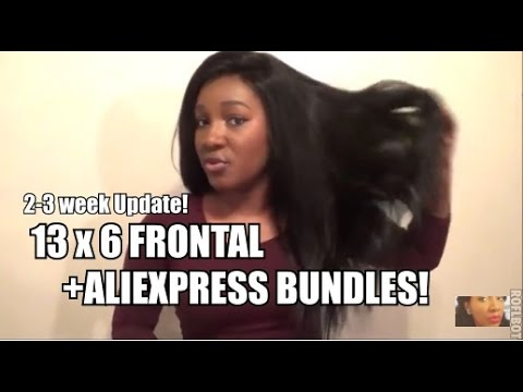 13 x 6 Frontal Install Update and Aliexpress Bundles!