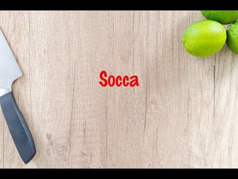 How to cook - Socca