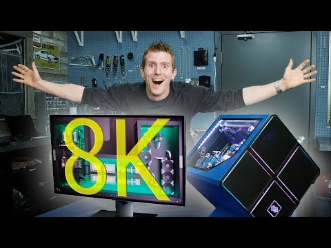 Dell's 8K Monitor – Gaming, Video Creation & Consumption!