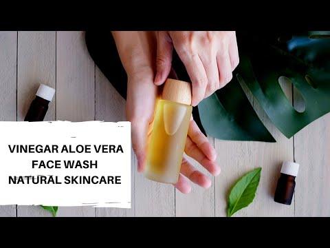 Vinegar Aloe Face Wash Natural
