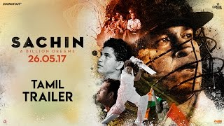 Sachin A Billion Dreams | Official Tamil Trailer | Sachin Tendulkar