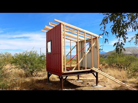 Shipping Container PlayHouse - Part 1