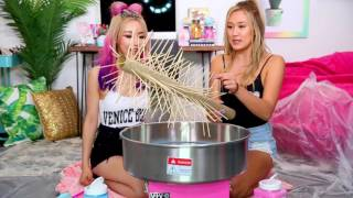 Download DIY GIANT COTTON CANDY w WENGIE! Video