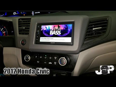 2012 Honda civic radio removal