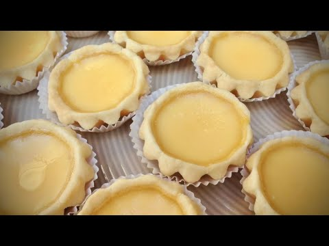 Traditional Chinese Egg Tarts