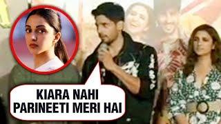 Sidharth Malhotra EPIC REACTION On Affair With Kiara Advani | Jabariya Jodi Trailer Launch