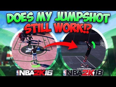Does My 2K16 SECRET JUMPSHOT Still Work in NBA 2K18!!? It's Been 3 Years!!