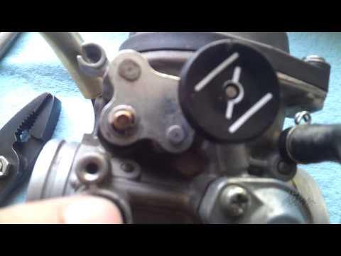 Mikuni Carb Pilot Jet Cleaning / Pilot Jet