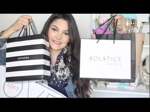 Mall Haul | Shoes, Sunnies, Sephora & More!