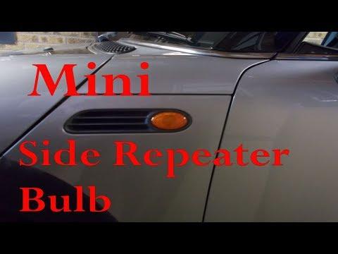 Mini side repeater bulb change