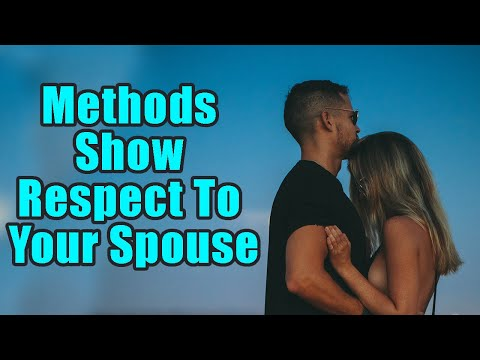 Methods In Which You Show Respect To Your Spouse | Boldsky