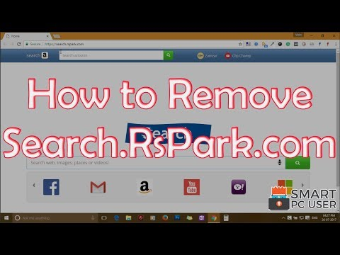 Remove Search.RsPark.com from all Browsers (Chrome, Firefox, IE, Edge)